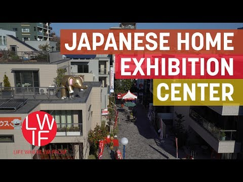 What a Japanese Home Exhibition Center is Like