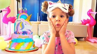 Diana e Seu Aniversário de 6 Anos