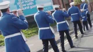 Orange Order  Church Parade passing carrickhill and st patricks chapel 2013