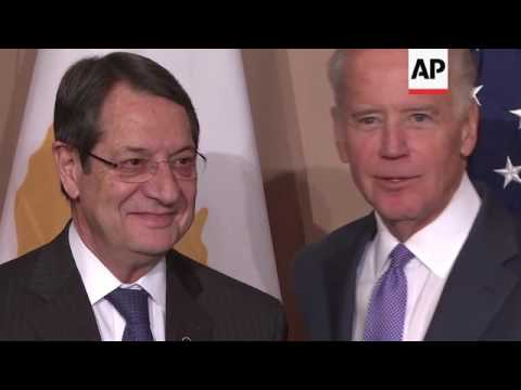 US VP meets Cypriot president