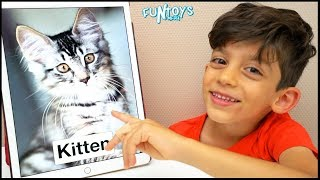 Learn Animals for Kids with Jason | Funny Education