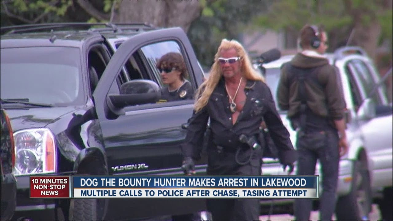 39 dog the bounty hunter 39 in lakewood chase youtube