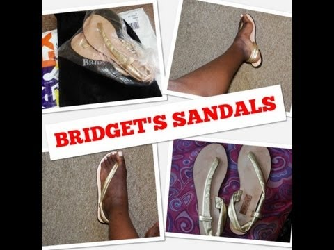 7dd054f0bf89 Bridget Sandals Kingston Jamaica (CUTAWAY) - YouTube