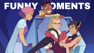 Best Friends Squad Funniest Moments (She-Ra s1-s5)