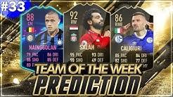 FIFA 19: TOTW 33 PREDICTIONS! IF SALAH, NAINGGOLAN & CALIGIURI🔥