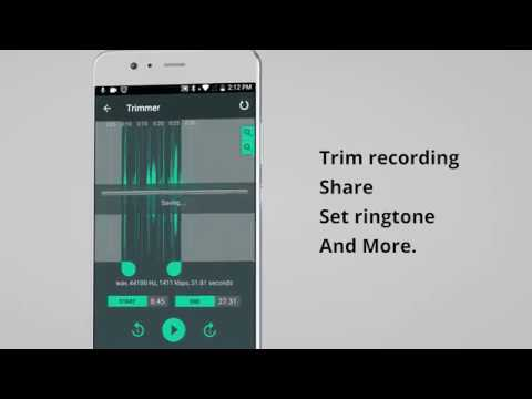 Voice Recorder & Audio Recorder, Sound Recording - Google Play'də