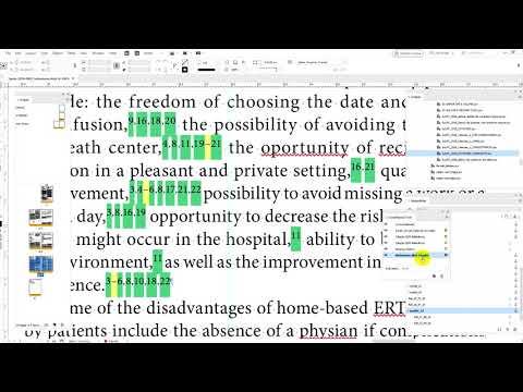 InDesign JavaScript by LFCorullón | Make and checking crossRefs links