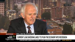 Load shedding will likely push the economy into a recession: Cruickshanks