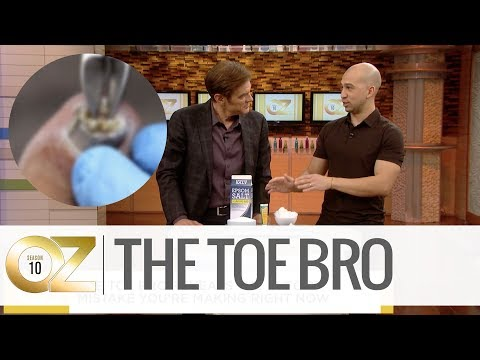 """The Toe Bro"" Reveals His Hack to Treat Ingrown Toe Nails"
