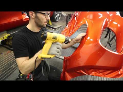 Mercedes AMG GTS wrapped Fiery Orange!