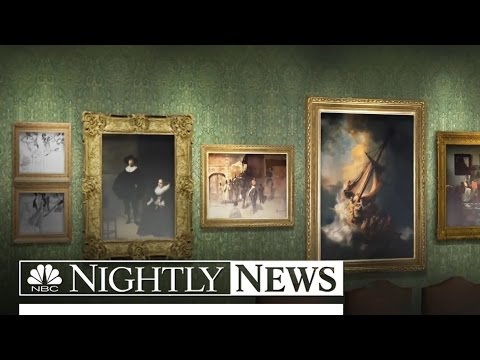 Newly Released Video May Help Recover $500 Million in Stolen Art | NBC Nightly News