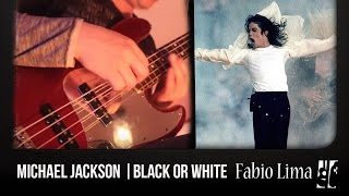 """Michael Jackson """"Black Or White"""" on Bass Solo by Fabio Lima"""
