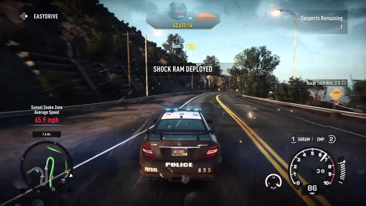 need for speed rivals ps4 edition part 1 cops on the run youtube. Black Bedroom Furniture Sets. Home Design Ideas