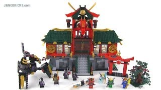 lego ninjago 70728 battle for ninjago city set review