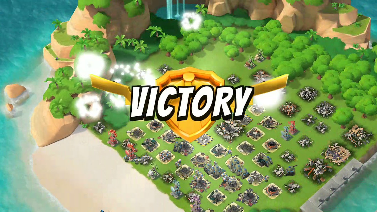 Total Boom Beach Map Clear Level 30 On Mage Turtle
