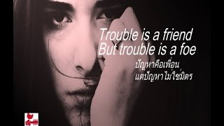 เพลงสากลแปลไทย #190# Trouble Is A Friend - Lenka (Lyrics & Thai subtitle)