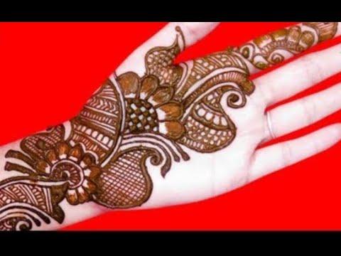 best mehendi designs for front hand