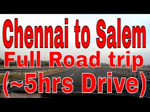 Chennai to Salem, Full Road Trip(~5hours drive)