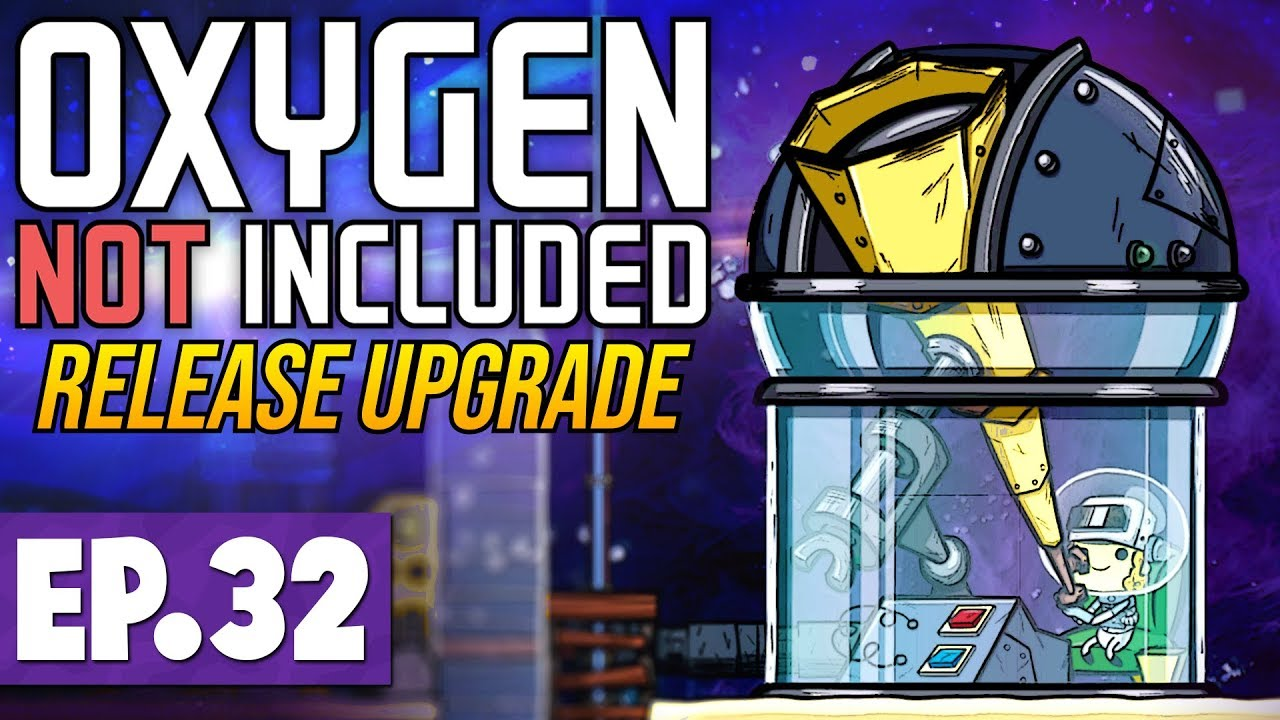 Space, Solar Panels & Meteor Protection! | Oxygen Not Included LAUNCH  UPGRADE #32 [Let's Play]