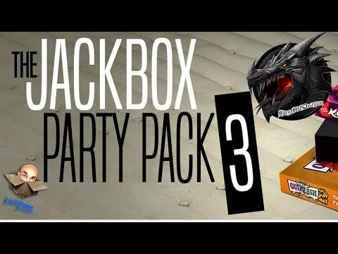 🔵LIVE🔵Community Game Night-Jackbox Party Pack 3! Let The Shenanigans Begin!