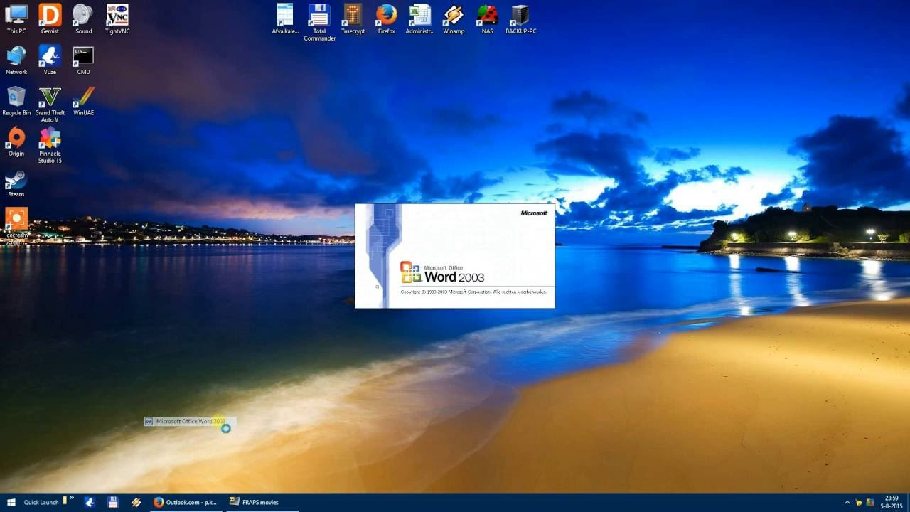 Office 2003 and Windows 10 - No problem