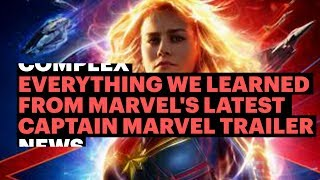 Everything We Learned From Marvel's Latest Captain Marvel Trailer
