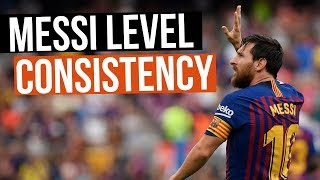 3 Soccer Tips To be More Consistent In Matches - Messi Consistency