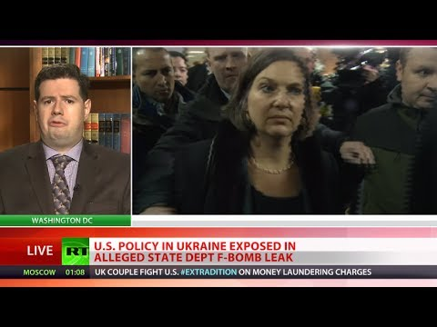 F-Bomb Explodes: 'Alleged curse word leak exposes US tricks in Ukraine'