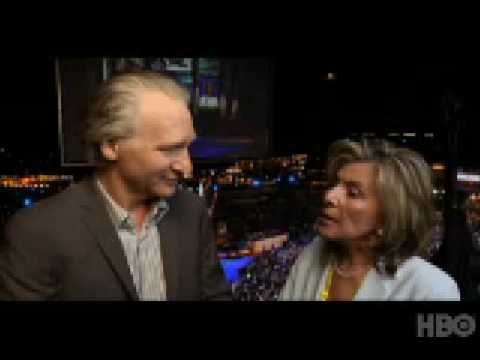 Bill Maher And Senator Barbara Boxer