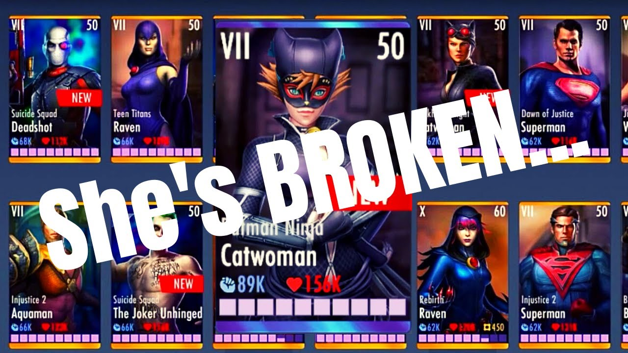 Batman Ninja Catwoman Is Broken Injustice Gods Among Us 3 2 Ios Android Youtube