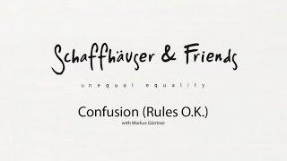 Mathias Schäffhauser & Friends - Confusion (Rules O.K.)(with Markus Güntner)