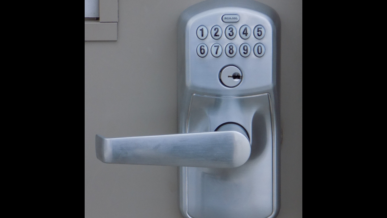 Schlage Keyless Lock Program Youtube