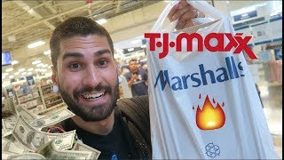 SHOPPING for STEALS & DEALS at MARSHALLS + TJ MAXX!!!