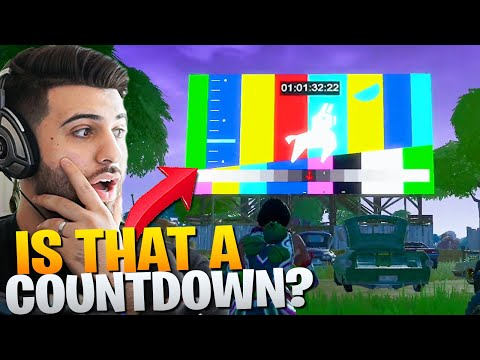 *NEW* Countdown Timer At Risky Reels! (Fortnite Battle Royale)
