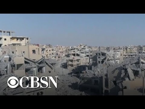 Reporter's notebook: Holly Williams on reporting from ISIS' capital in Raqqa, Syria