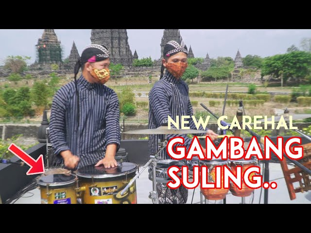 Audionya Joss!! GAMBANG SULING - Aransemen Musik Tradisional - Angklung New Carehal Malioboro Jogja