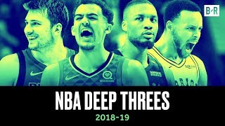 Deepest 3-Pointers from the 2018-19 NBA Season   UNLIMITED Range from League's Stars