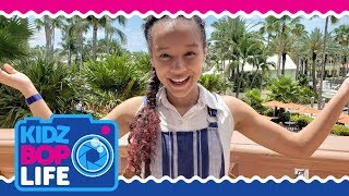 KIDZ BOP Life: Vlog # 29 - Ahnya's Family Fun Vacation on a Cruise