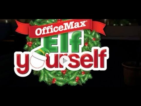 how to elf yourself by officemax ipad app review youtube