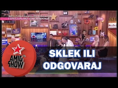 Sklek ili Odgovaraj - Ami G Show S10 - E26