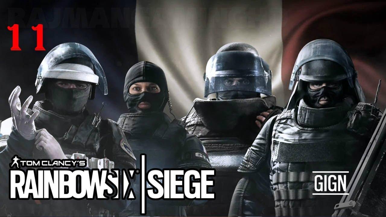 Rainbow Six Siege Gign Operators: Rainbow Six Seige