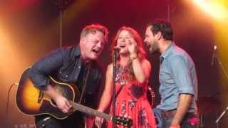The Lone Bellow - When Will I Be Loved - live at Cambridge Folk Festival 2015