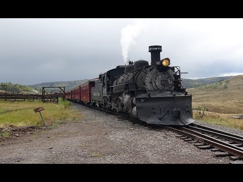 Cumbres & Toltec Scenic Railroad - Part 2 - Osier to Antonito