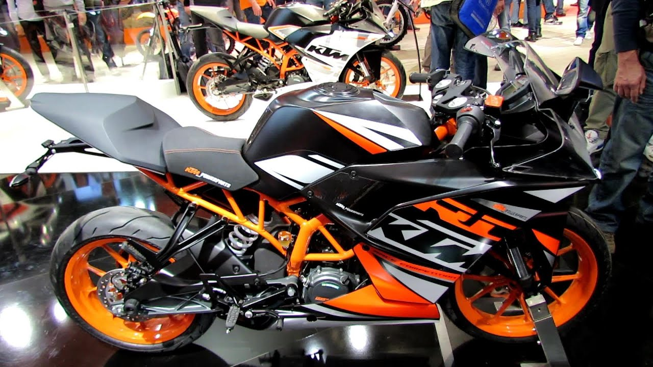 2014 ktm rc 125 walkaround 2013 eicma milan motorcycle exhibition youtube. Black Bedroom Furniture Sets. Home Design Ideas