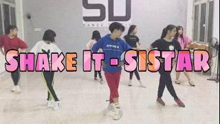 [KPOP DANCE CLASS] SISTAR(씨스타) _ SHAKE IT  / SID DANCE STUDI…