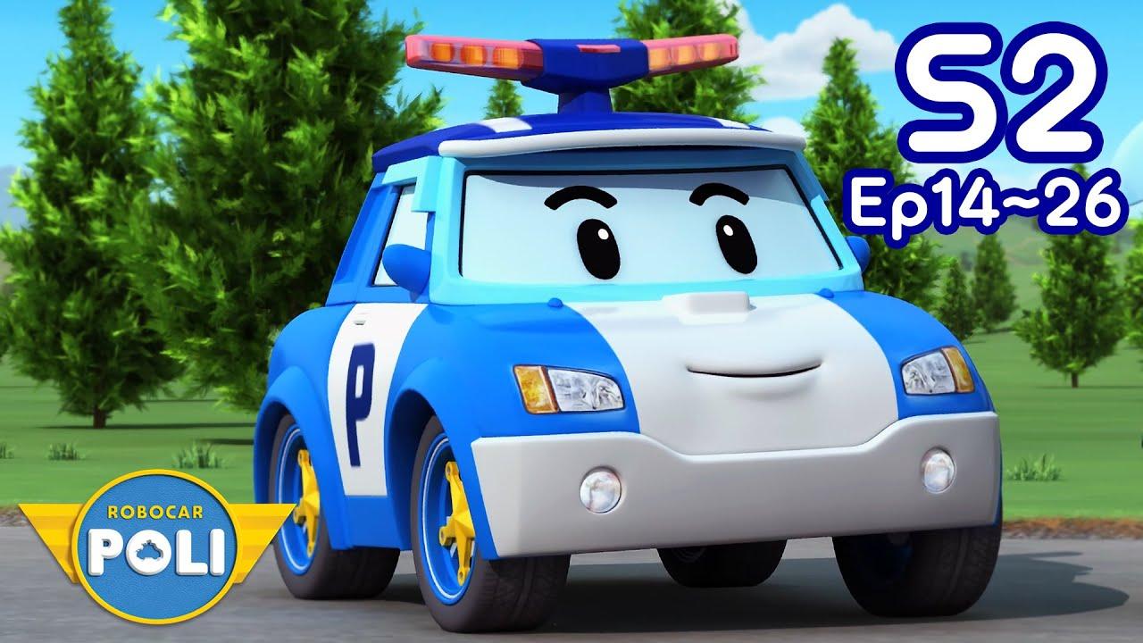 Robocar POLI Season 2 Full Episodes | Ep.14~Ep.26 Nonstop Play | Cartoon for Kids | Robocar POLI TV
