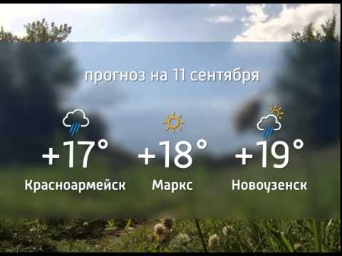 Прогноз погоды. 10.09.2015