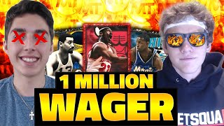 BIGGEST WAGER OF ALL TIME - NBA 2K15 MY TEAM
