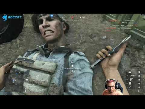 Battlefield V  Me llaman cheto y desean el cancer xD, y le gano a un cheto de verdad xD thumbnail