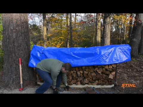 How to Properly Store Firewood